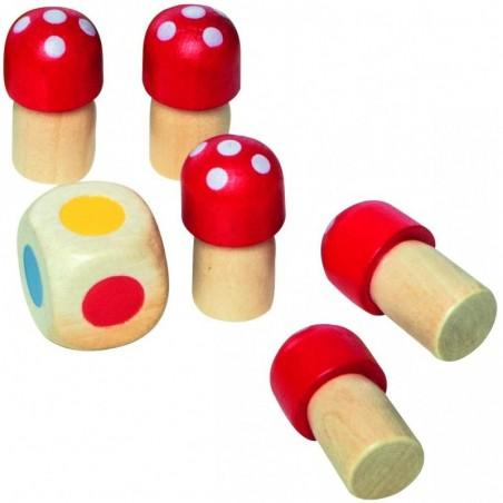 Mini puzzle en bois Croix basque