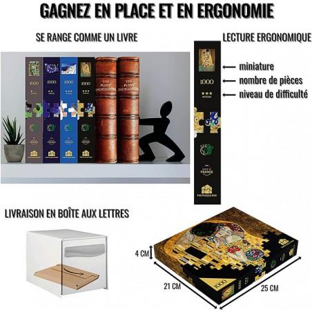 Mini puzzle en bois WENTWORTH Chapelle Sistine 40 pièces