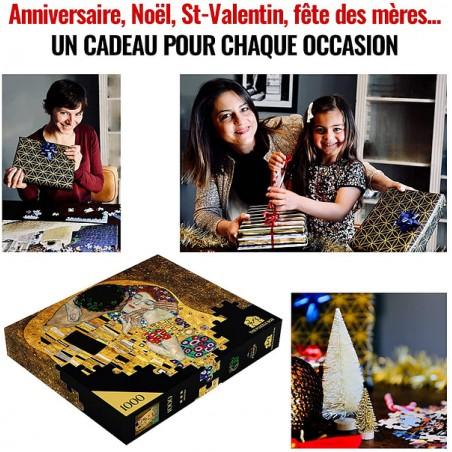 Mini puzzle en bois WENTWORTH Queen Elisabeth 40 pièces