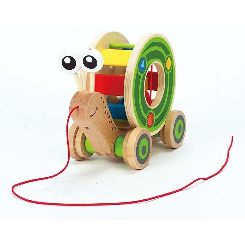 Escargot roulant avec boite à formes