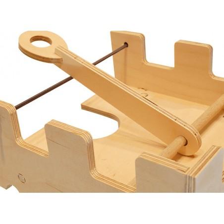 Pièces échecs bois n°3