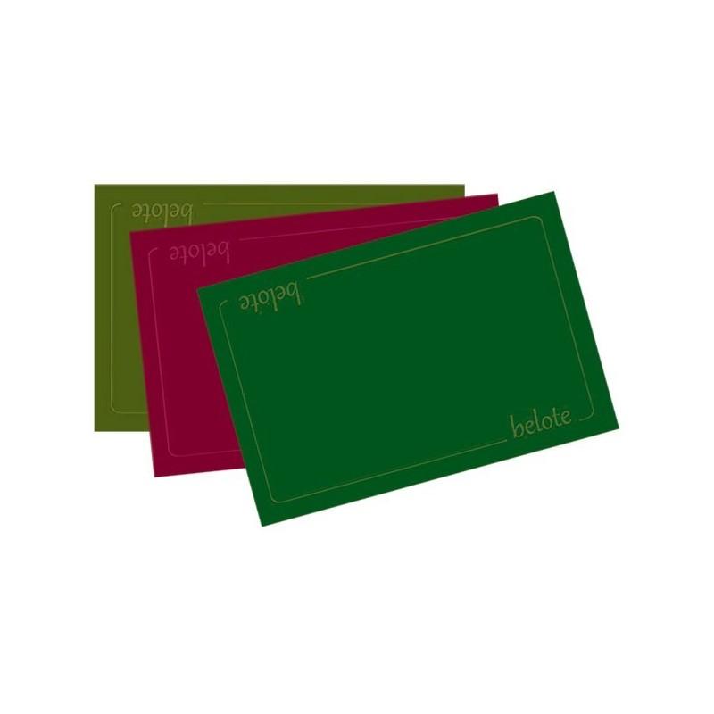Tapis de belote 40x60cm